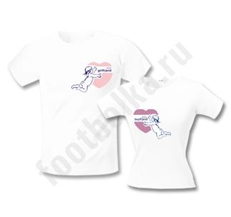 Необычный подарок на День Влюбленных 14 февраля -прикольные футболки.