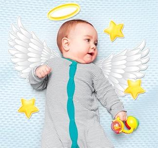 Набор элементов для детской фотосессии Маленький ангел