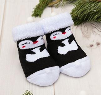 Носки детские махровые Пингвинчики