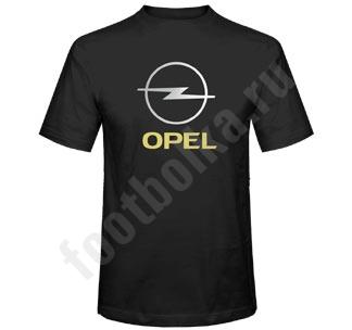 Футболка Opel черная