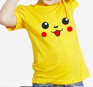 Футболка детская с покемоном Пикачу