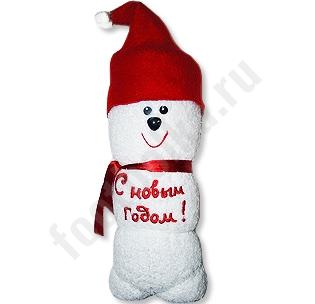 Полотенце Снеговик