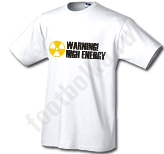 Футболка Warning High Energy