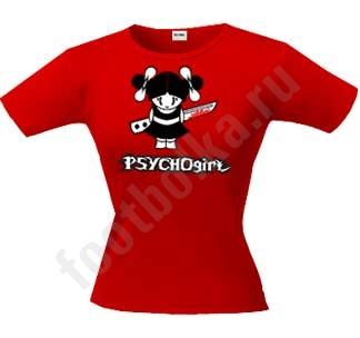 Футболка PsychoGirl