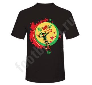Футболка Reggae music