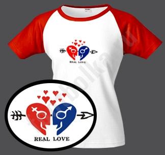 Футболка.ру.  Любовь есть здесь, любовь есть там, * Любовь...