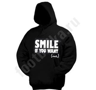 Толстовкакенгурушка  Smile if you want me