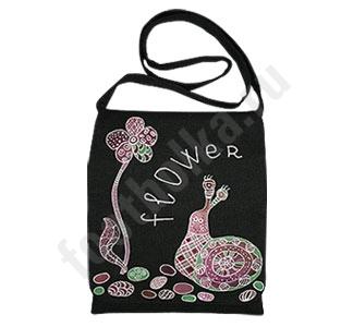 Сумка Flower роспись