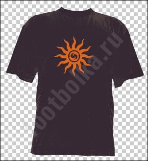 Футболка Солнечный круг