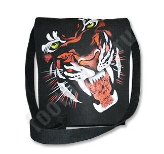Сумка Wild tiger авторская работа