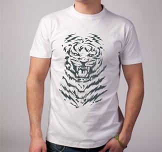 Футболка Оскал тигра