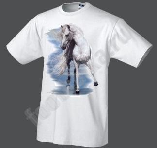 Футболка Белая лошадь