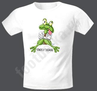 Футболка Упитая лягушка
