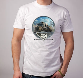 Футболка World of Tanks танк полноцвет