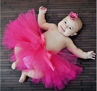 Юбкапачка из фатина Розовая детская