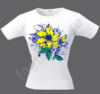 Футболка Солнечный цветок