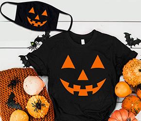 Празднуем Хэллоуин 2020 ярко: новая коллекция футболок и масок с принтами
