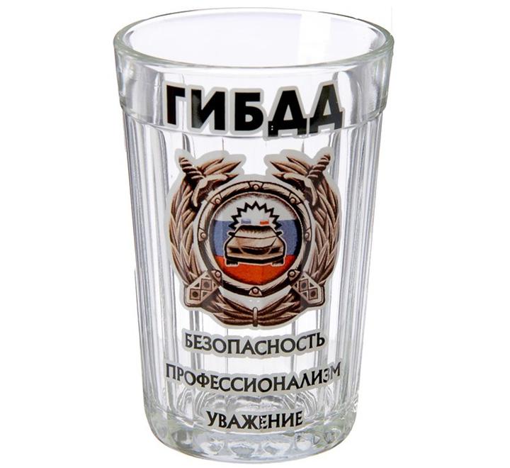 """Стакан граненый """"ГИБДД"""""""