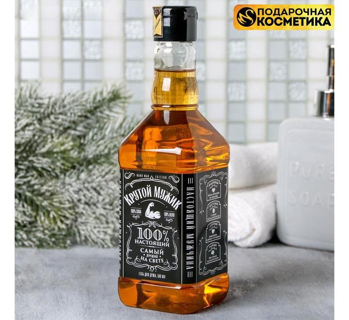 """Гель для душа виски """"Крутой мужик"""" джек"""
