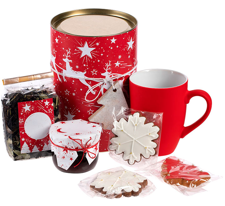 Набор новогодний чайный Holly Jolly