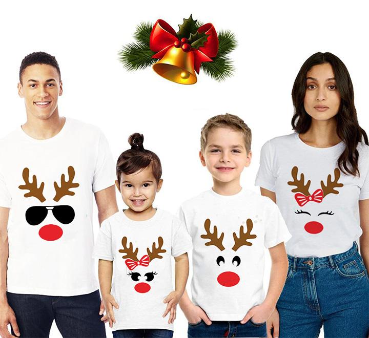 """Детская футболка для девочки из комплекта  """"С оленем -3"""" SALE"""