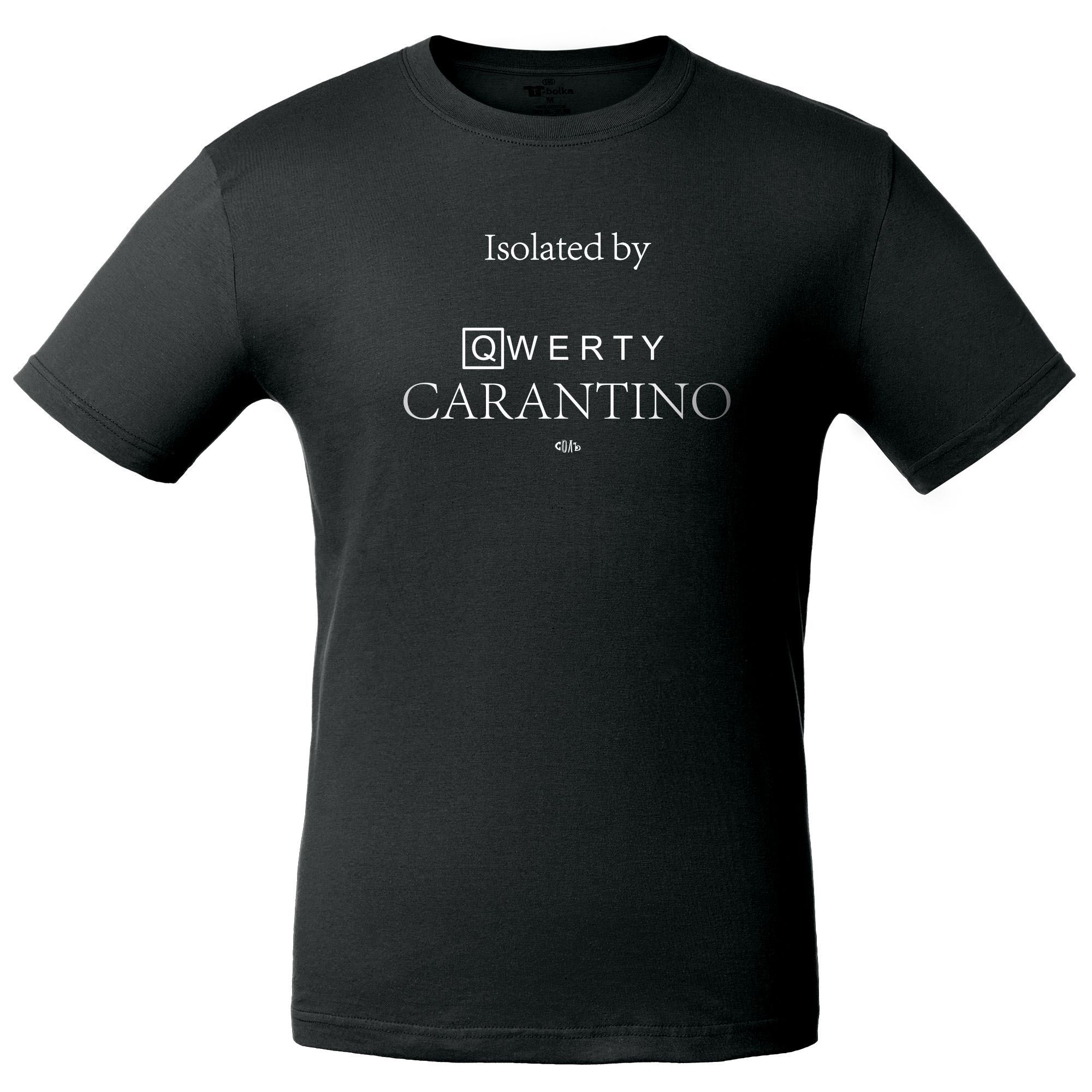 Футболка Carantino, черная