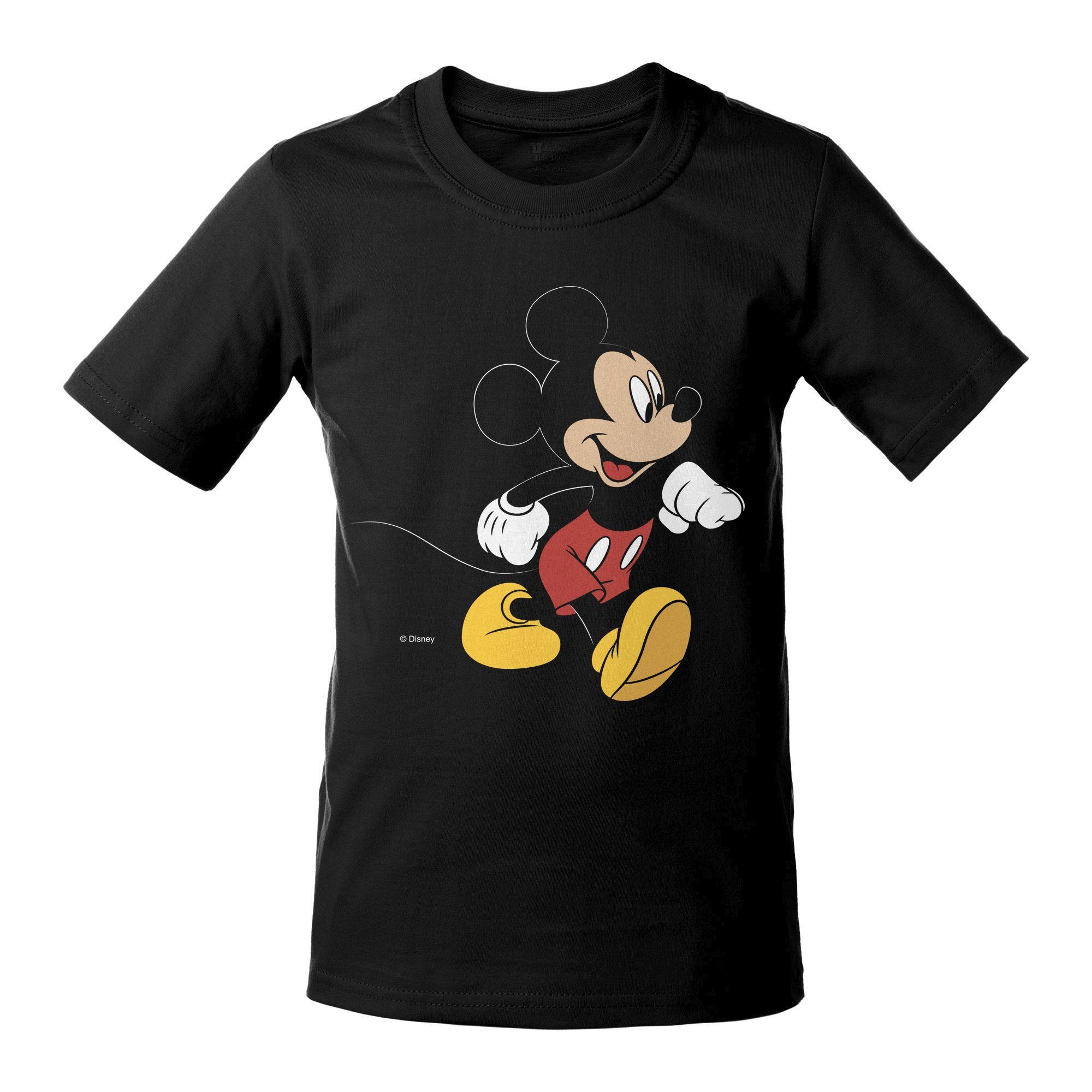 Футболка детская «Микки Маус. Easygoing», черная арт 55532.31