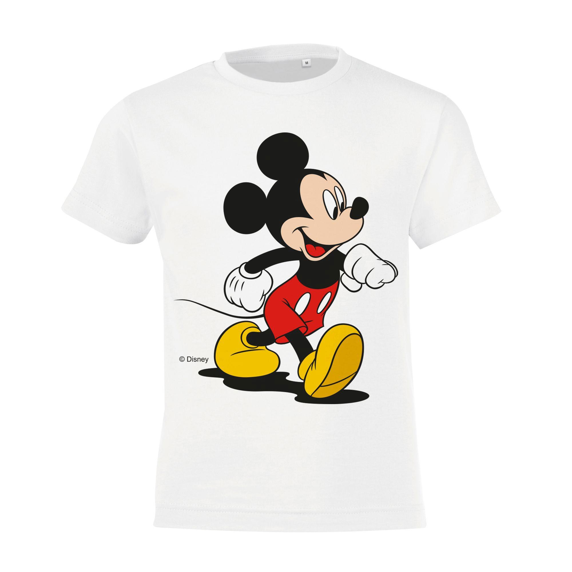 Футболка детская «Микки Маус. Easygoing», белая арт 55532.61