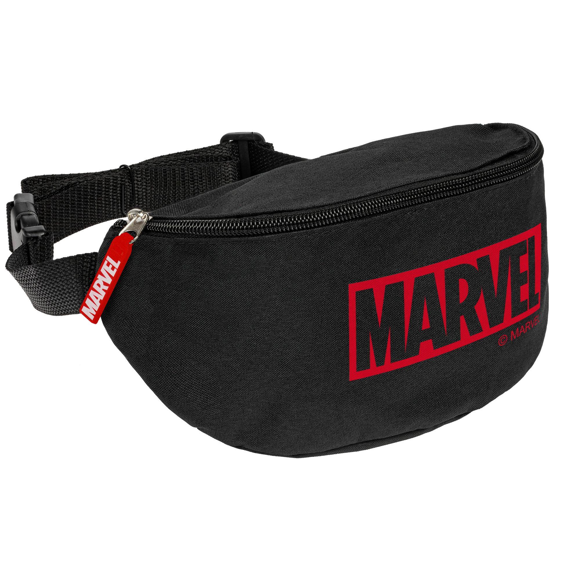 Поясная сумка Marvel, черная арт 55553.30