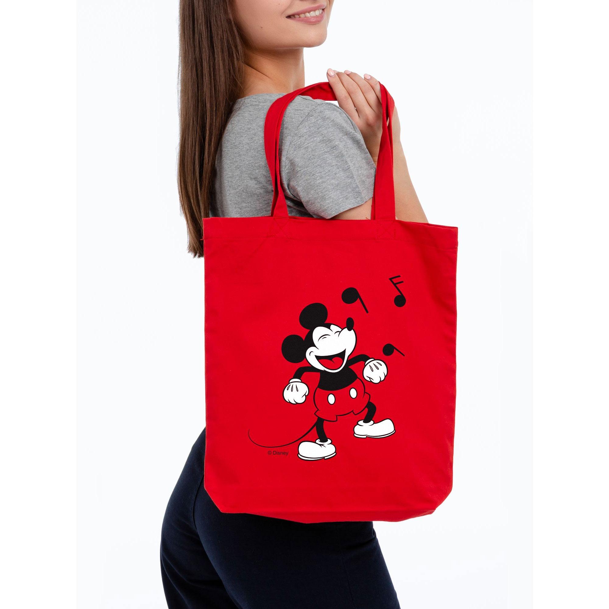 Холщовая сумка «Микки Маус. Sing With Me» арт 55503