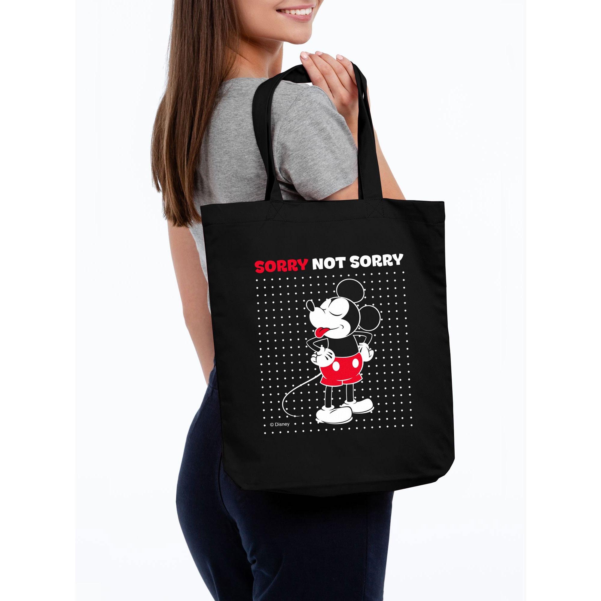 Холщовая сумка «Микки Маус. Sorry» арт 55502