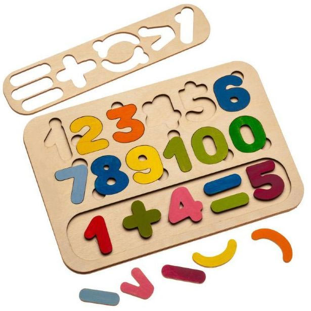 Сортер-раскраска «Цифры»