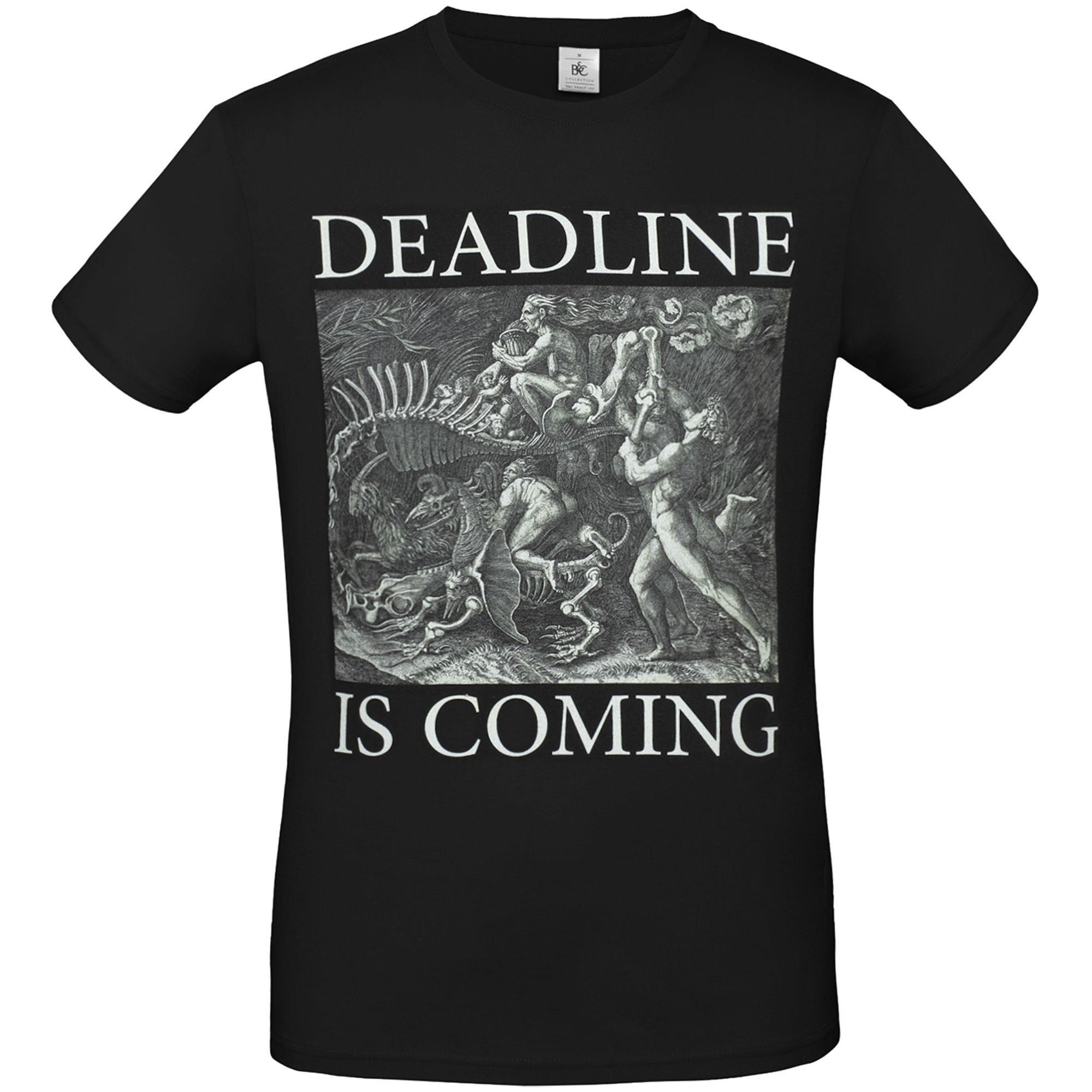 Футболка унисекс Deadline, черная