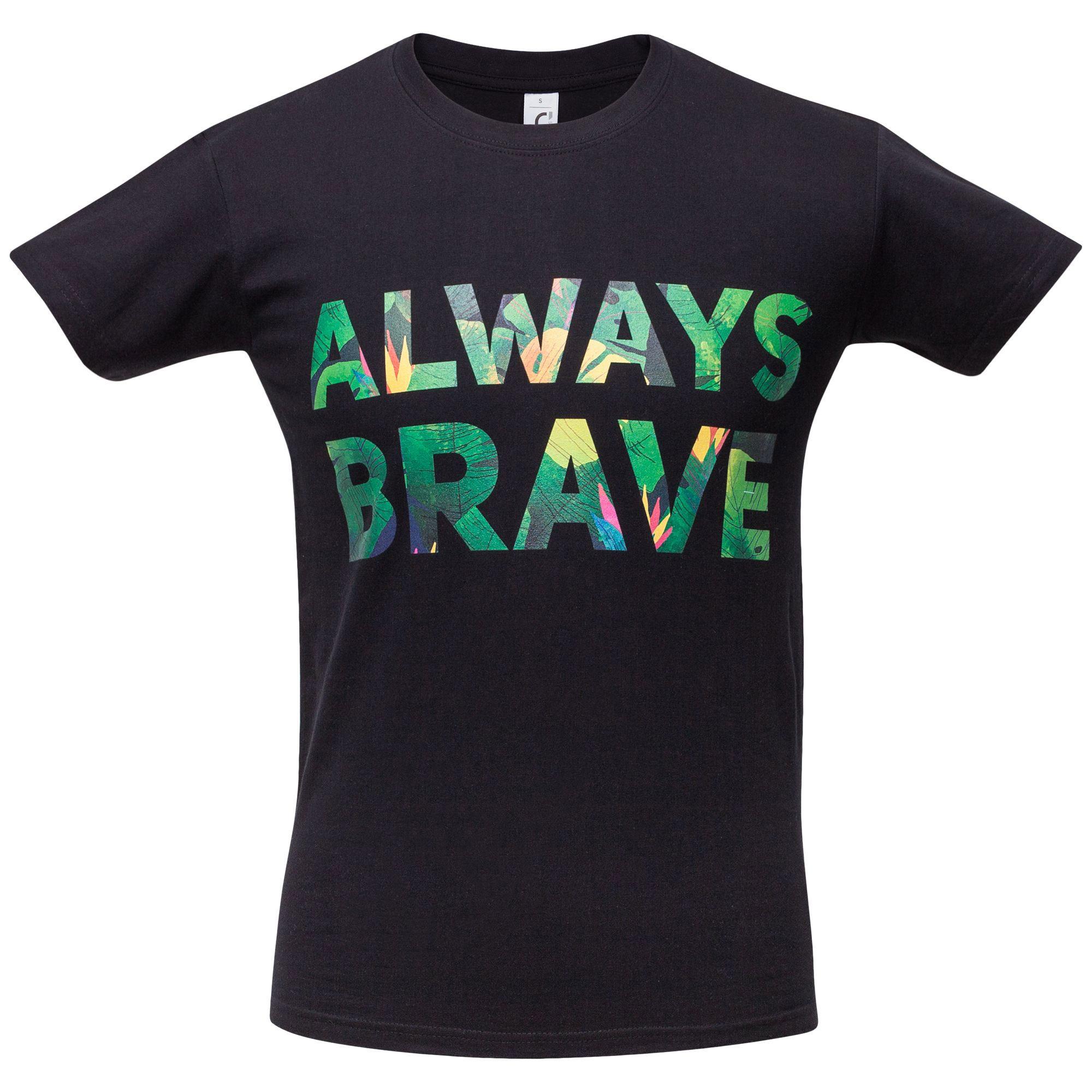 Футболка унисекс «Будь храбрым!»