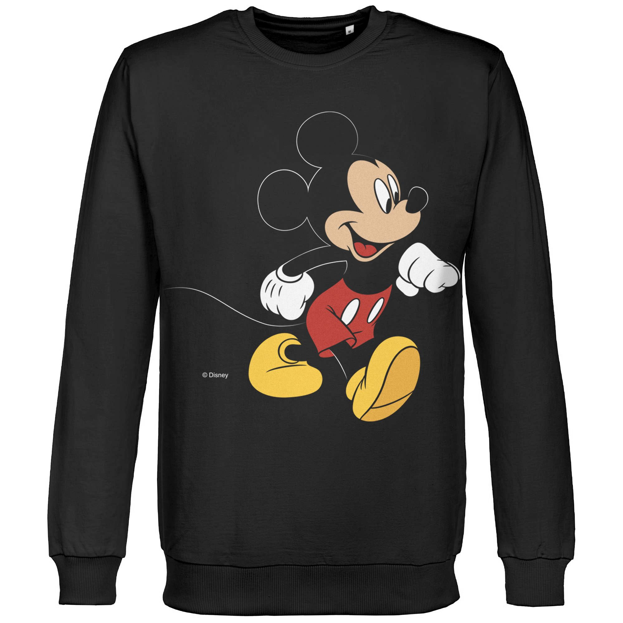 Толстовка «Микки Маус. Easygoing», черная арт 44405.30