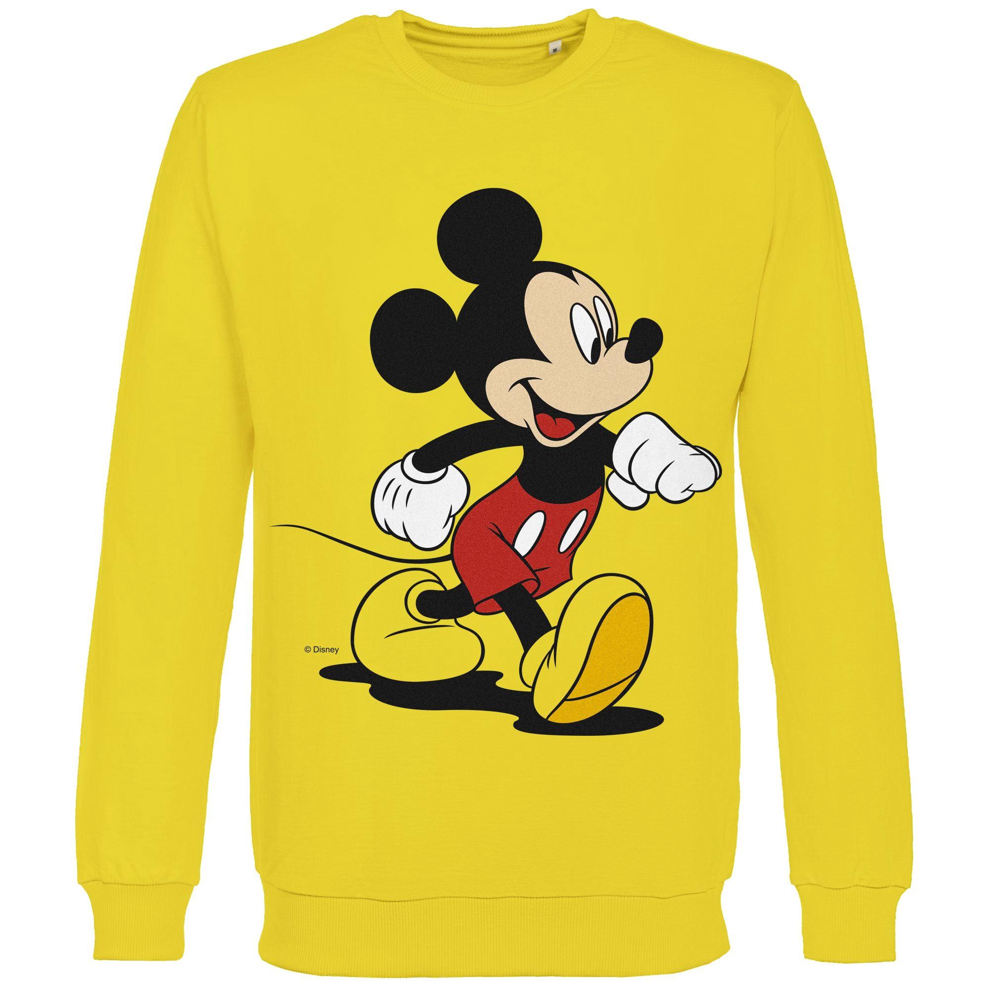 Толстовка «Микки Маус. Easygoing», желтая арт 44405.80