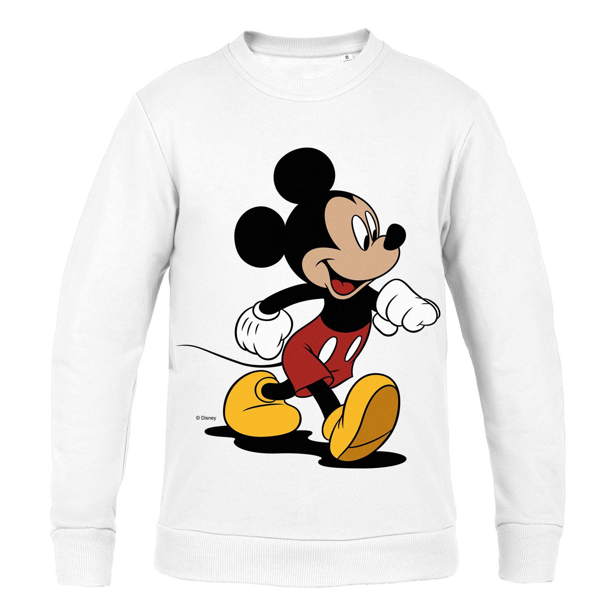 Толстовка детская «Микки Маус. Easygoing», белая арт 44406.60