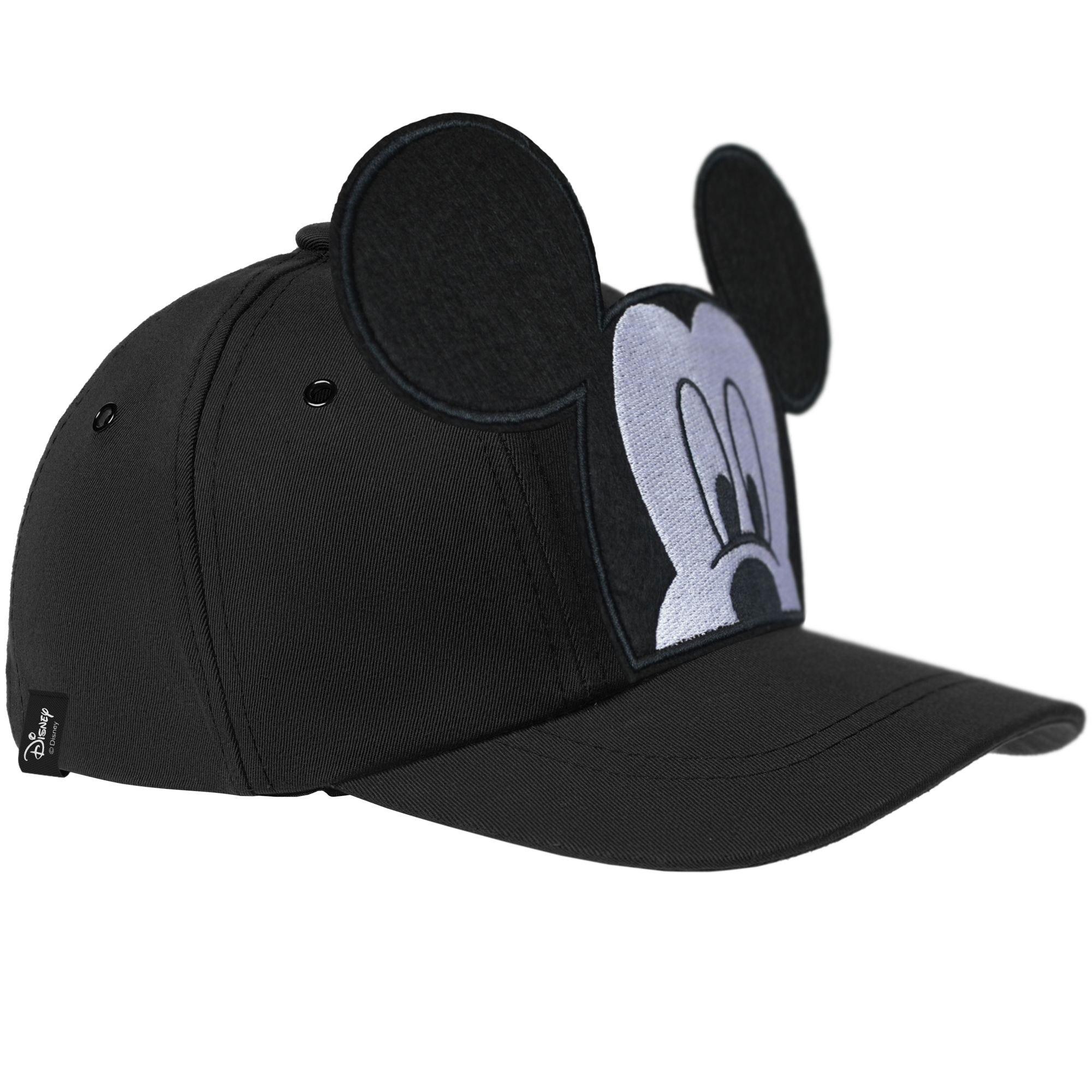 Бейсболка детская «Микки Маус», черная арт 55538.30
