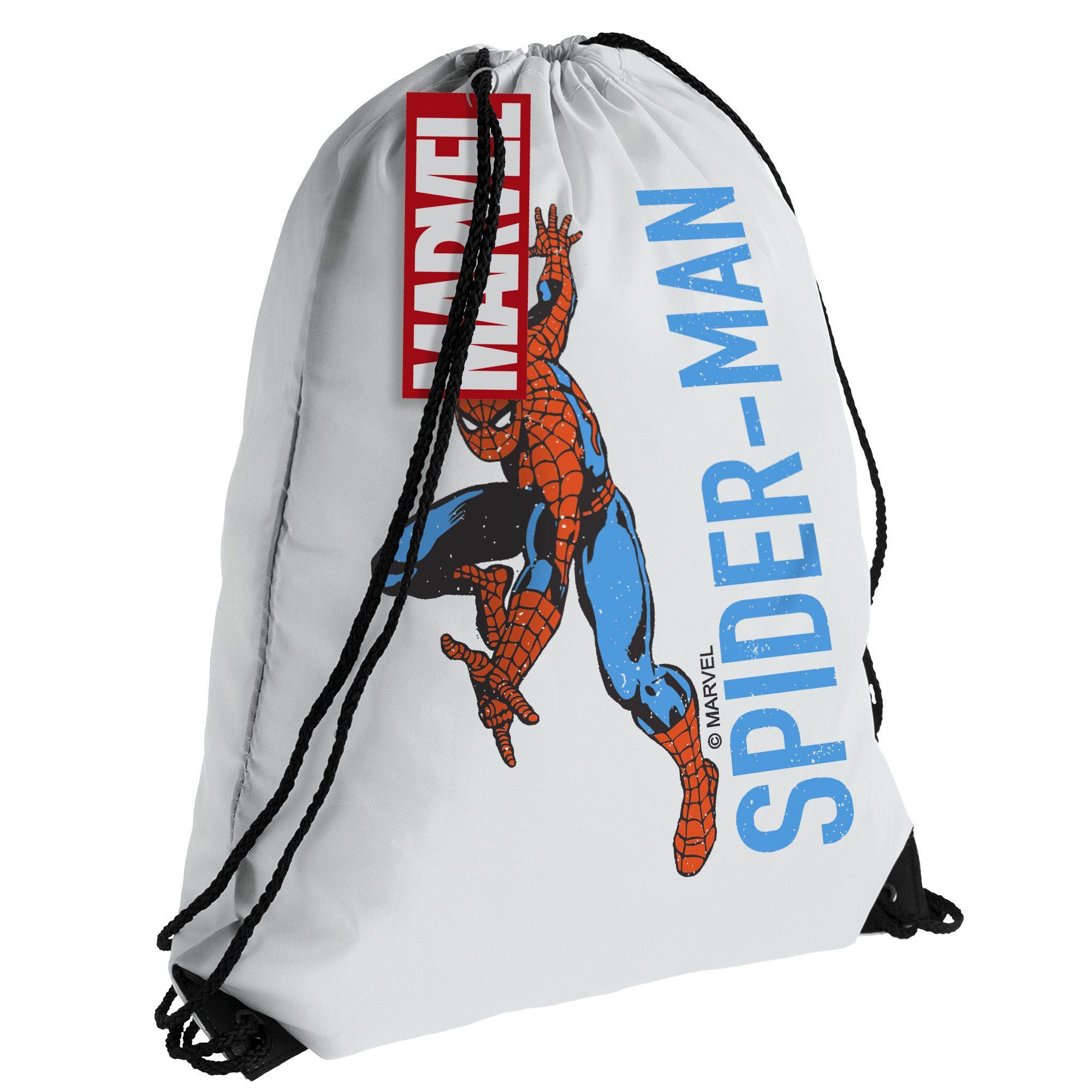 Рюкзак/ мешок для сменки Spider-Man, белый арт 55559.60