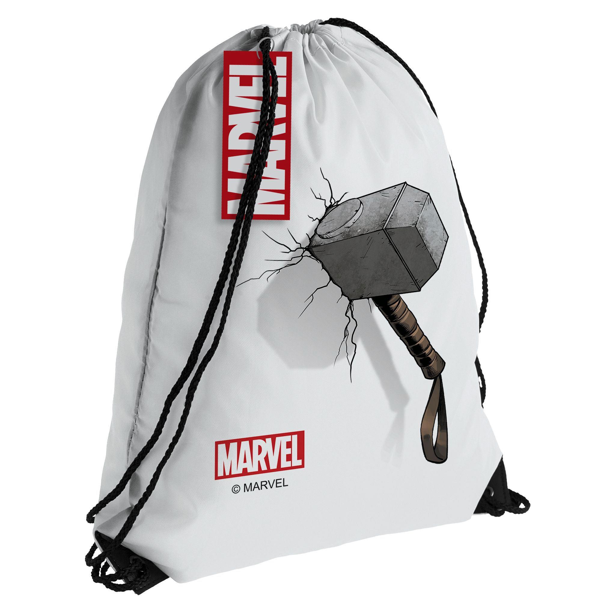 Рюкзак / мешок для сменки «Молот Тора», белый арт 55518.61