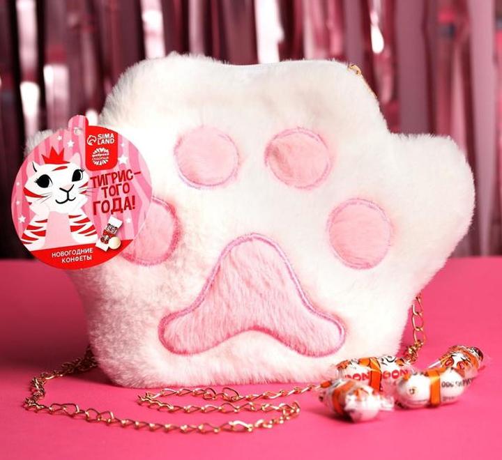 Подарочный набор «Тигриная лапа »  с конфетами