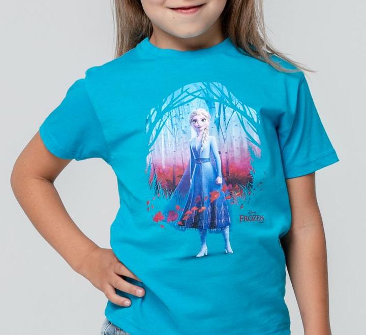 Футболка детская Elsa, голубая