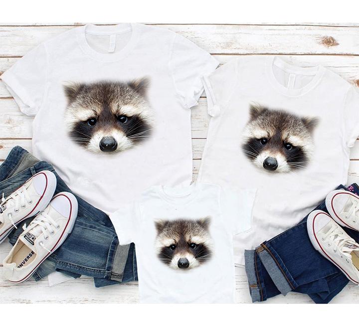 """Семейные футболки """"Енотики"""""""