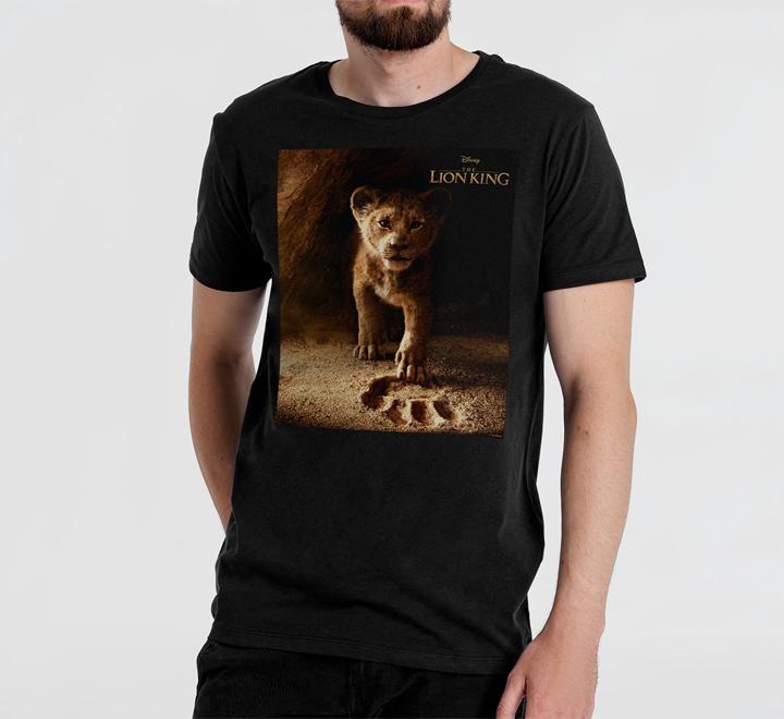 Футболка Lion King Footprint, черная