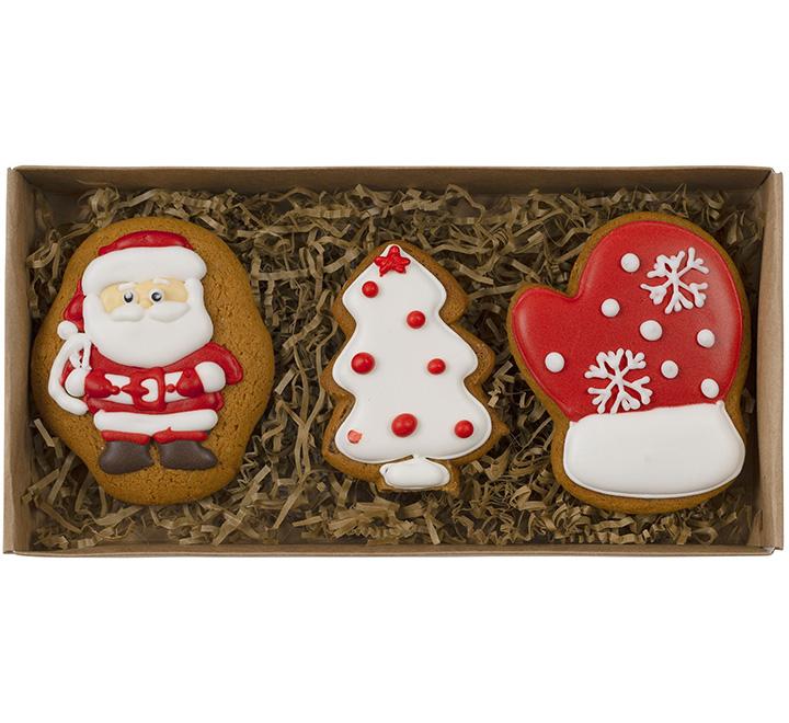 Набор новогоднего печенья Santa's Cookies