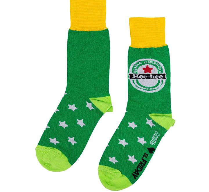 Носки Hee-hee, зеленые