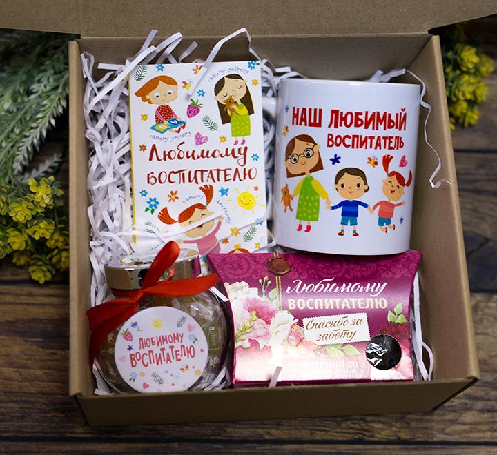 """Подарочный набор в коробке """"Любимому воспитателю"""""""