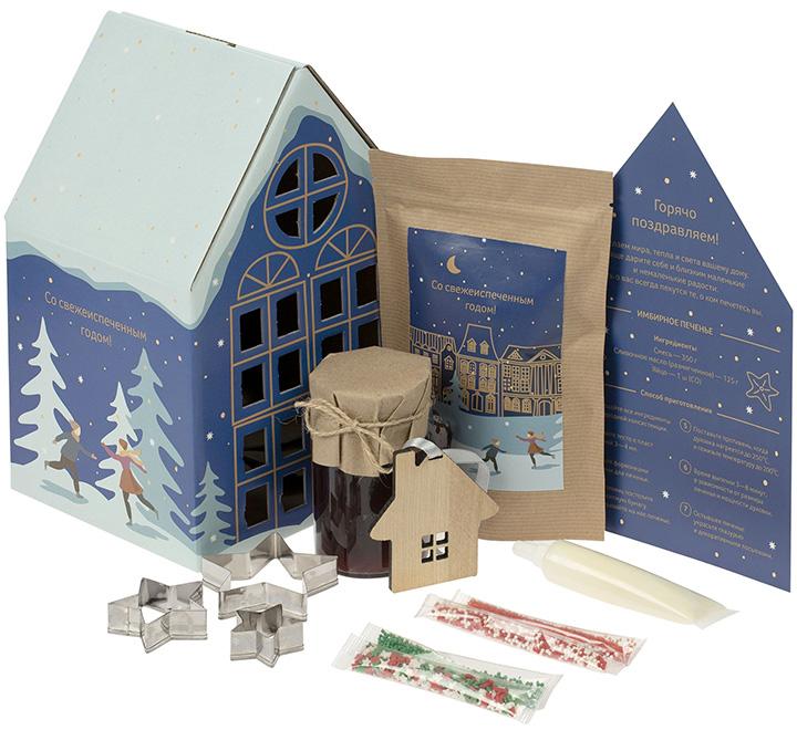 Набор Christmassy для приготовления имбирного печенья