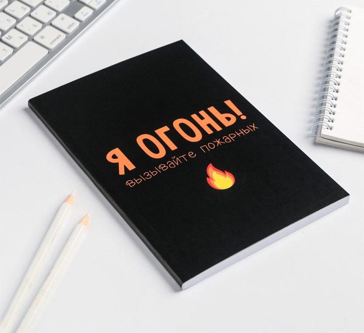 """Ежедневник """"Я огонь! Вызывайте пожарных"""""""