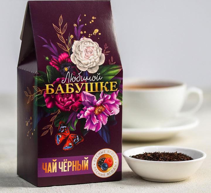 Чай чёрный «Любимой бабушке»